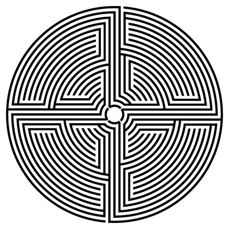deadlock: Black round labyrinth
