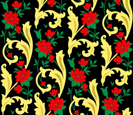 Floral background Stock Photo - 7517300