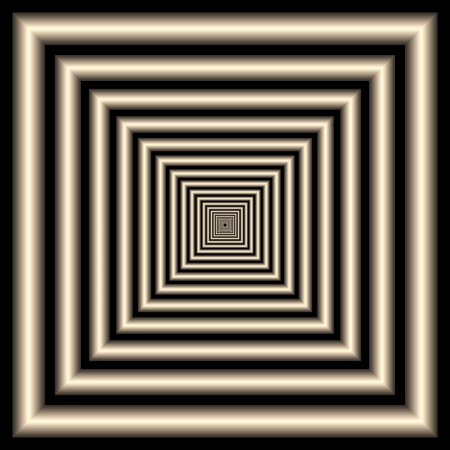 tunnel. optical illusion photo