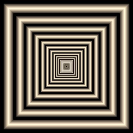 tunnel. optical illusion Stock Photo - 9110310