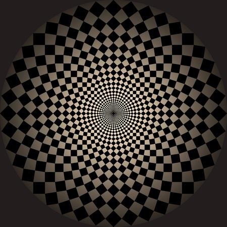 optical illusion. photo