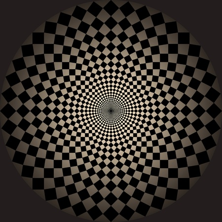 optical illusion. photo