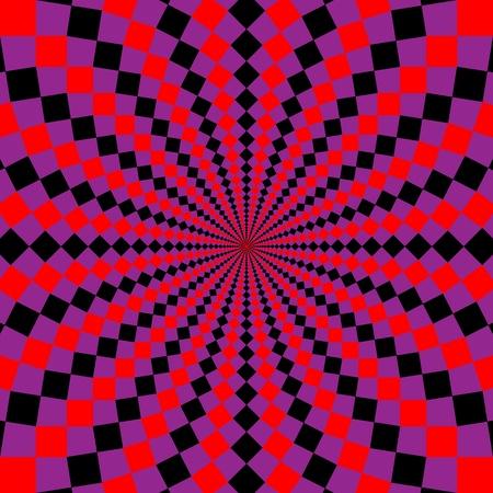 optical illusion.  Stock Photo - 9110311
