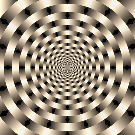hypnosis: optical art