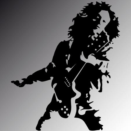 pop singer: Rock guitar player