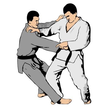 광주 -의 jutsu 싸움 일러스트