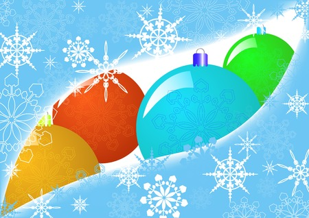 xmas card illustration, Christmas abstract background Vector