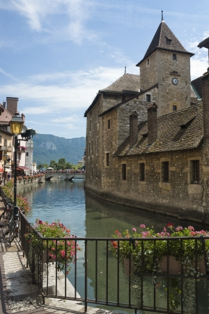 annecy city of france located in haute-savoie alps near frequently visited by tourists  Stock Photo - 13827913