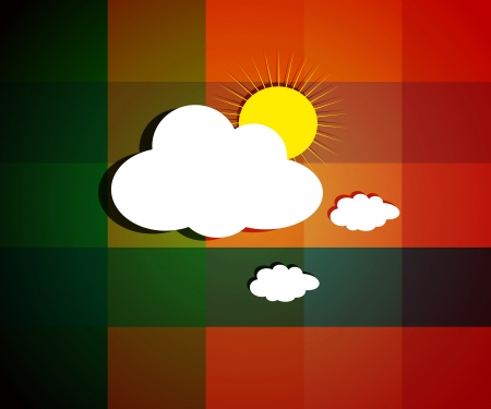 Beautiful Cloud images on bright sunny day background with texture