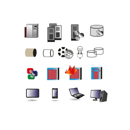 legacy: Collection of Information technology Icon, Symbols