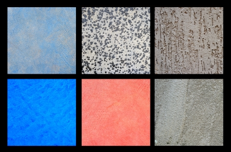 Collection of floor, slab, wall texture background