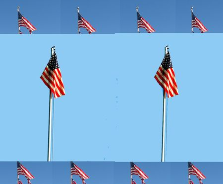 Collage Of Flags