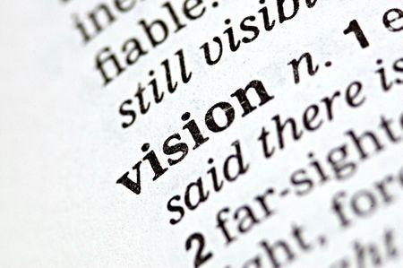 pr�voyance: Le mot �crit dans la vision d'un th�saurus