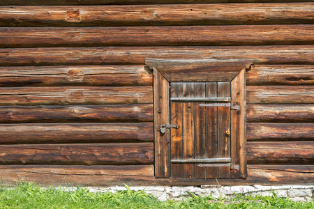 secured door: Old log house wood wall with closed door and padlock on it symbolizing & Secured Door Stock Photos \u0026 Pictures. Royalty Free Secured Door ... Pezcame.Com