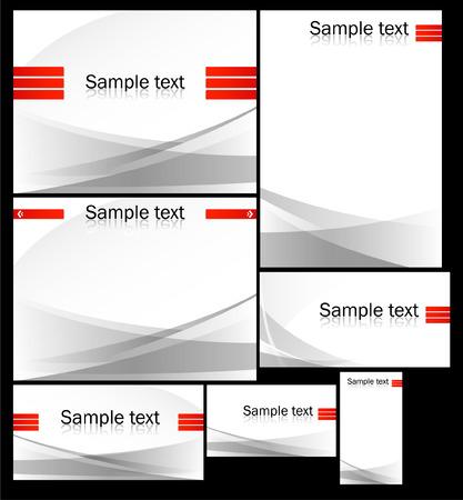 background for site or presentation Vector
