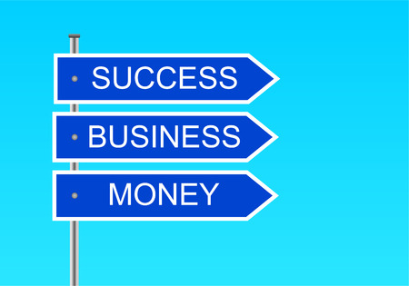 index success, money, business Vector