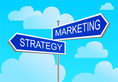 index marketing, strategy Illustration