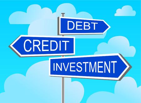 debt collection: index investment, credit, debt