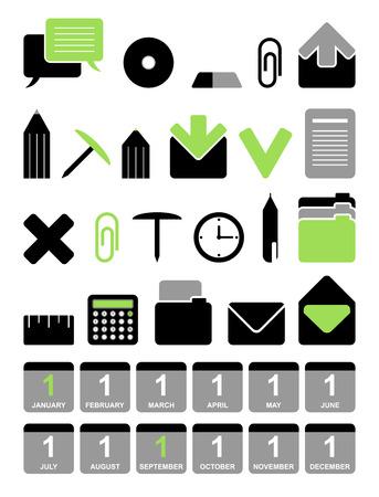 Office vector icon