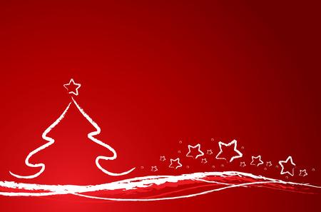 weihnachtsbaum: holiday background Illustration