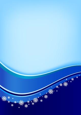 blue holiday background Illustration
