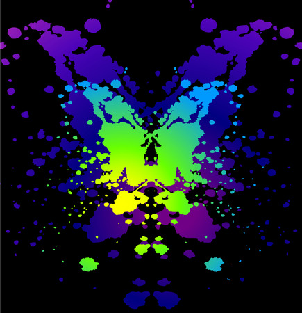 abstract stain Vector