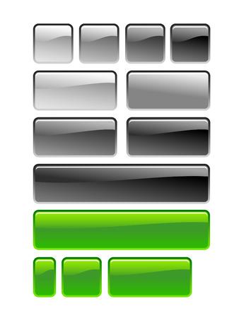 web square button