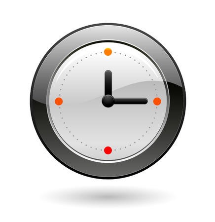 office clock: reloj de Oficina