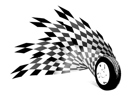 checker flag: Fondo Carting