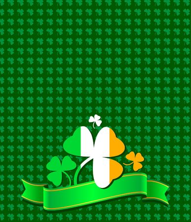 St. Patrick day background 일러스트