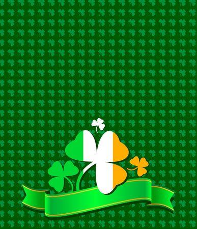 St. Patrick day background Illustration