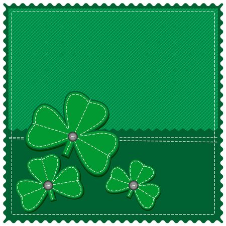 St. Patrick day background Stock Vector - 6574271