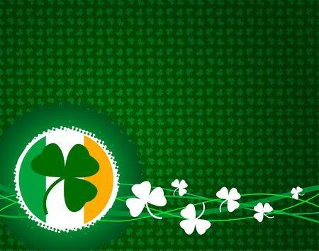 St. Patrick day background Stock Photo - 6574259