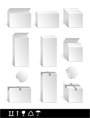 white box Illustration