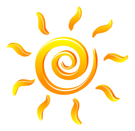 sun icon: sun Illustration