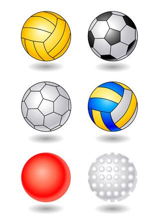 ポロ: スポーツ ボール  イラスト・ベクター素材