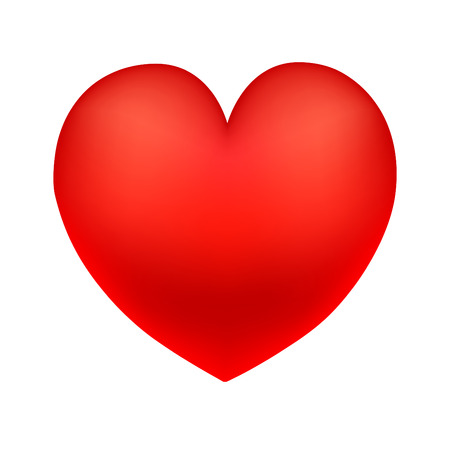 coeur rouge. grand c?ur Vecteurs