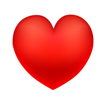 red heart. big heart