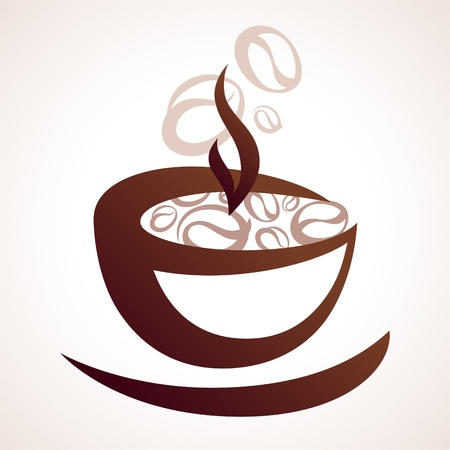 cup of coffee Stock Vector - 12925250