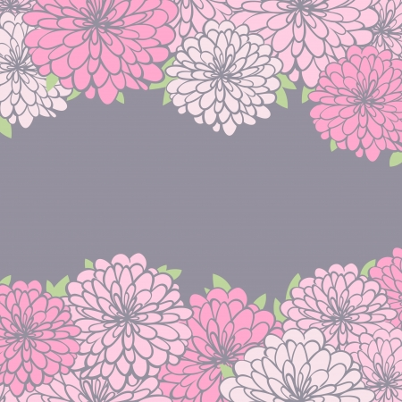 vintage floral background  eps8 Vector