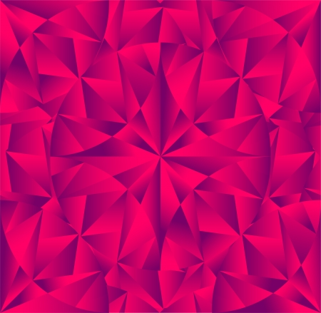 fractal pink: abstract crystal background Illustration
