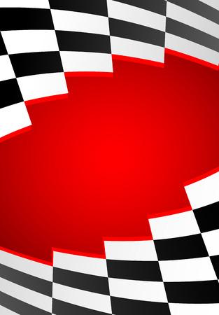 carting: carreras de fondo rojo