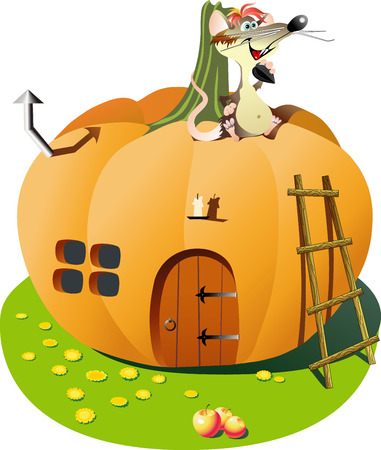 house pumpkin Vector