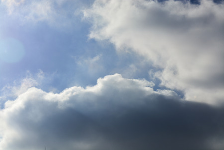 winter: winter sky Stock Photo