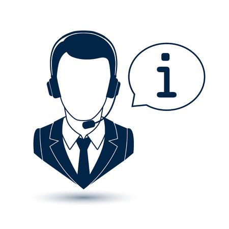 Icon consultant Illustration