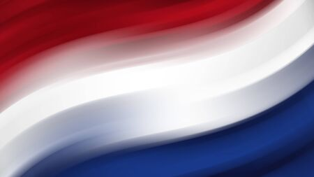 Abstract flag of the Netherlands. Netherlands national flag. Background