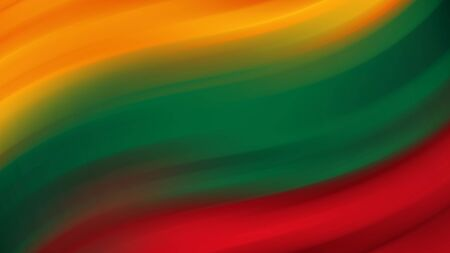 Abstract Lithuania national flag. Flag of Lithuania. Background