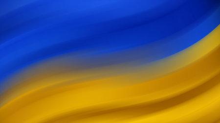 Abstract Ukrainian national flag. Flag of Ukraine. Background