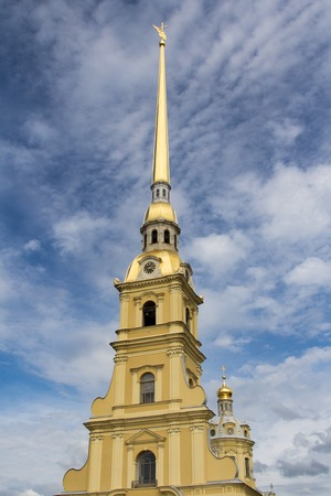 saints peter and paul: Cathedral of Saints Peter and Paul in St. Petersburg