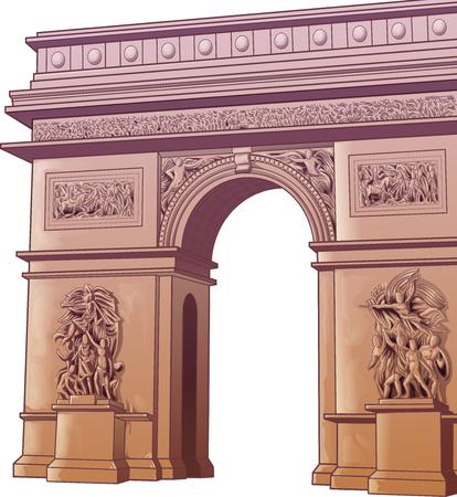 Arch of Titus. Vecteurs